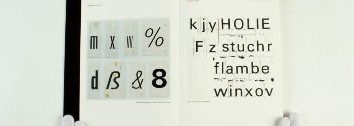 Typografie 2. Semester, Prof. Sybille Schmitz