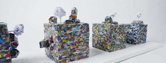 Visualisierung in Objektform von Ingrid Trojer