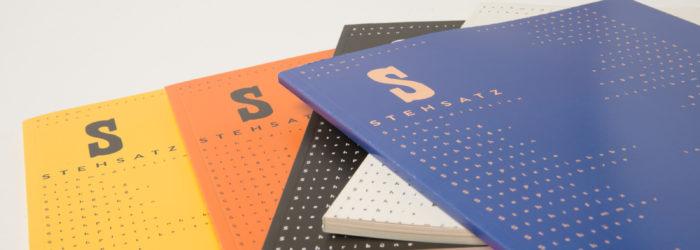 Stehsatz versteht sich als Stehmagazin zum Thema Typografie und visuelle Kommunikation