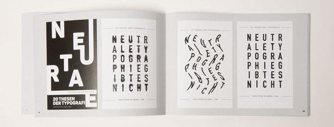 Broschüre mit 100 Gestaltungen
