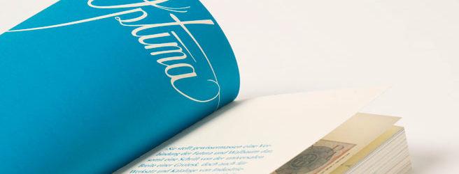 Typografie (2. Semester): Julia Floth, Christina Martin, Maria-Giulia Hiller