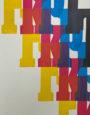Druck mit Holzlettern: Katharina Lutz, Studiengang Media Design in München