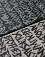 Die kalligrafische Arbeit von Verena Sedlmeir setzt das Lied bzw. die Lyrics von »Bad to the Bone« von George Thorogood kalligrafisch um.