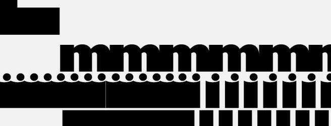 Katharina Lutz hat in ihrer Entwurfsreihe 100 rein typografische Gestaltungen geschaffen, die das jeweiligen Zitat untermauern oder auch konterkarieren.