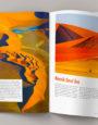 Reisemagazin. Editorial design (3. Semester): Hilal Yaser, Diana Hix Molinari, Laura Di Vita